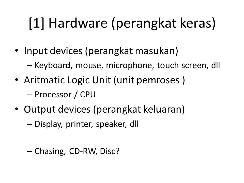 [1] Hardware (perangkat keras)